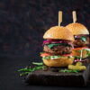 Buffalo Caramelised Onion Quarter Pounder 228g, 2 in a pack