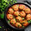 Buffalo Meatballs 240g, 12 in pack
