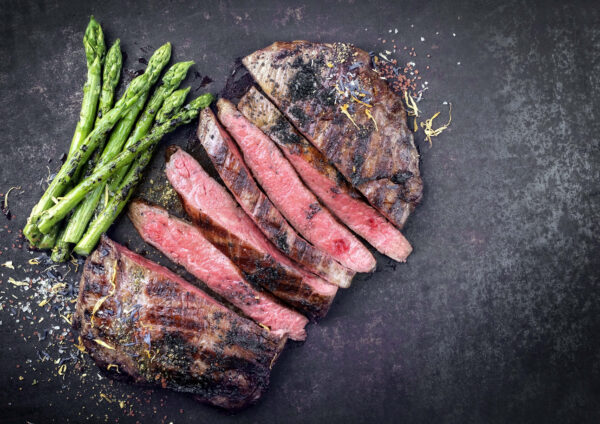 Buffalo Rump Steaks 250g, 2 in a pack