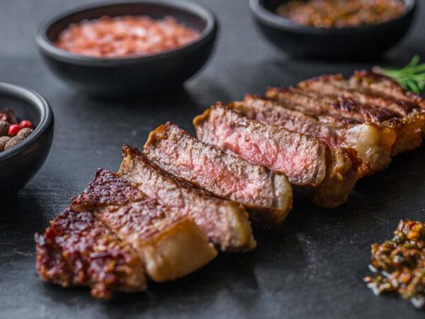 Llama Striploin Fillet Steaks 250g, 2 in a pack