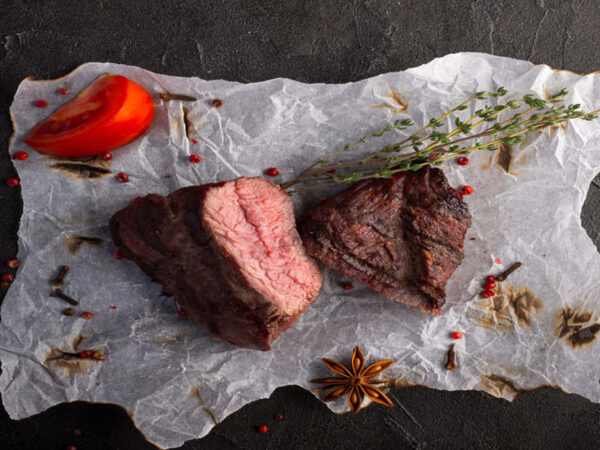 Partially Cooked Ostrich Fillet 250g, 2 in a pack