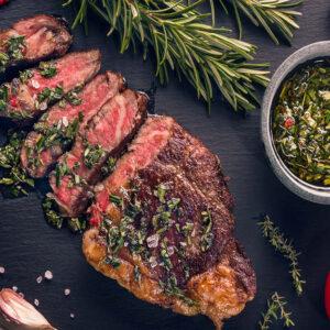 Rosé Veal Rump Steaks 250g, 2 in a pack