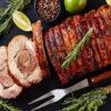 Wild Boar Haunch Roast 1kg, in a pack